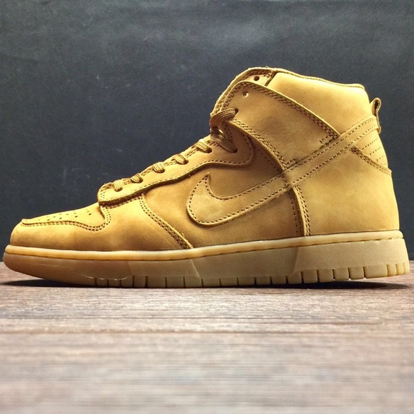 "best website cd135 e8c00 ... Nike Dunk High Premium ""Wheat"" Shoes ..."